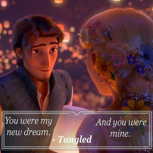 You were my new dream. And you were mine Picture Quote #1