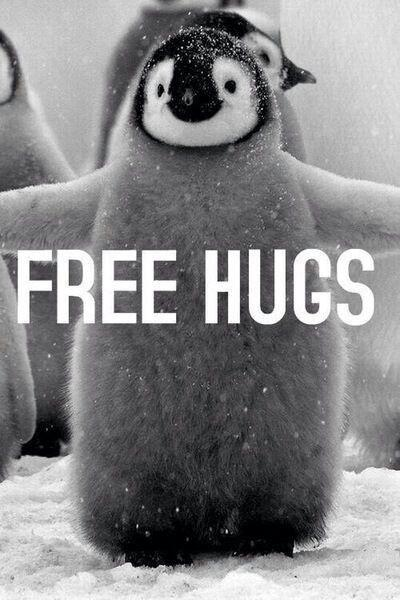 Free hugs Picture Quote #1