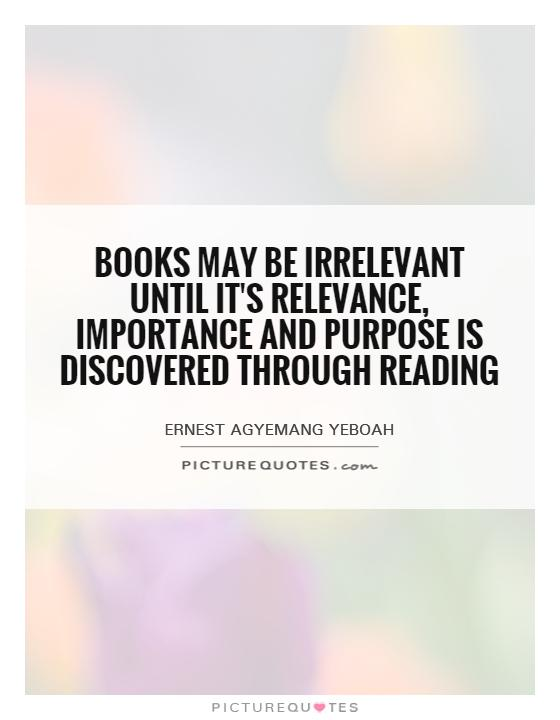 Quotes About Importance Of Reading Books may be ir...