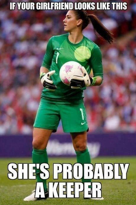 If your girlfriend looks like this she's probably a keeper Picture Quote #1