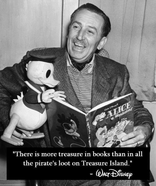 There is more treasure in books than in all the pirate's loot on Treasure Island Picture Quote #1