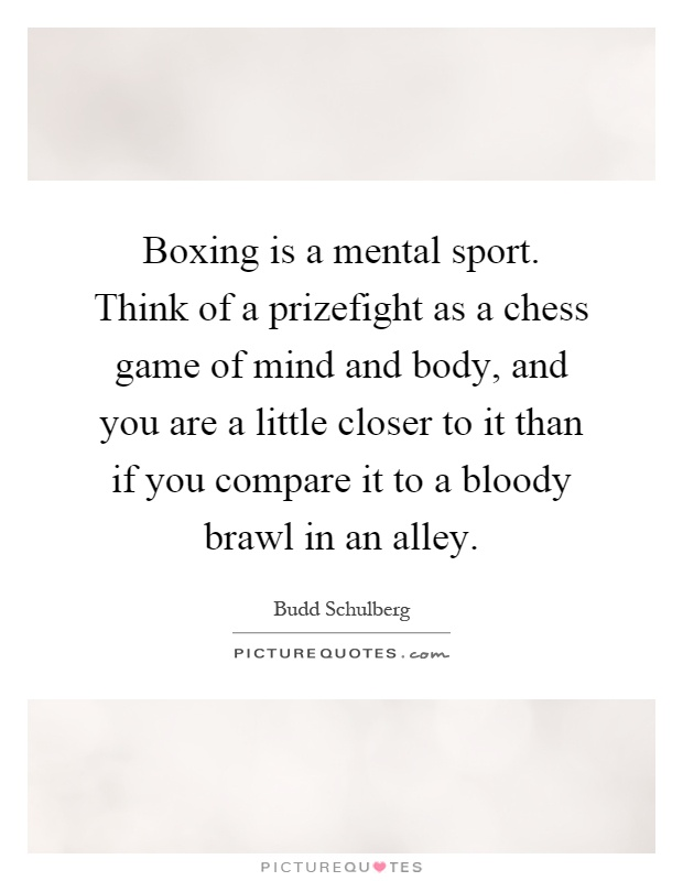 how to think in boxing