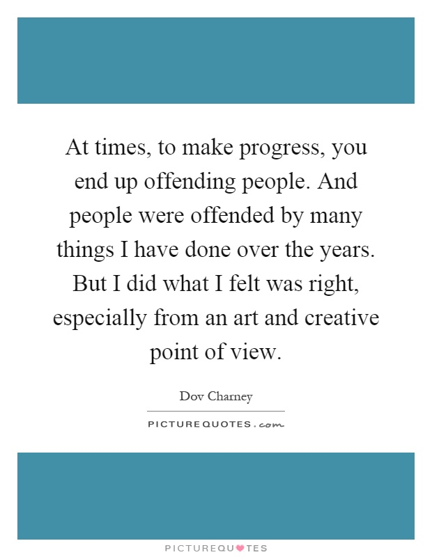 dov charney quotes