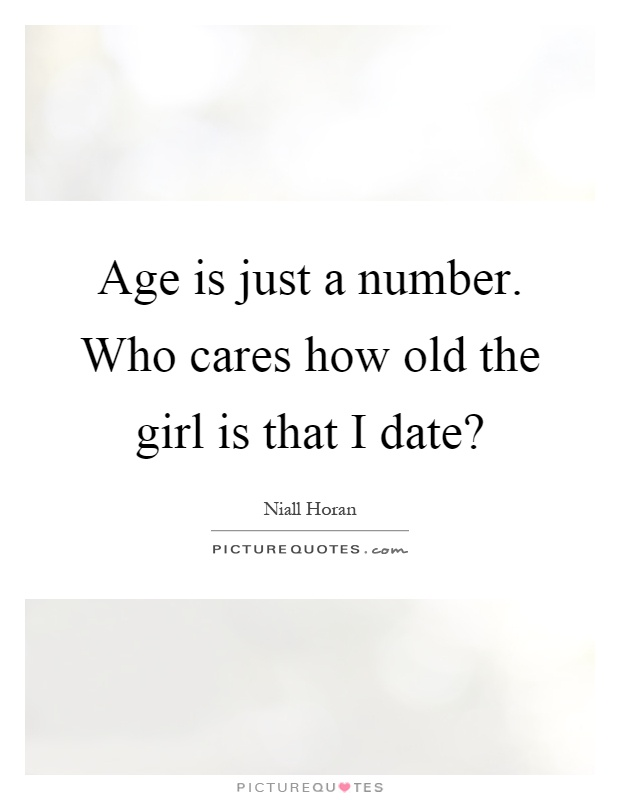 Is age just a number when dating
