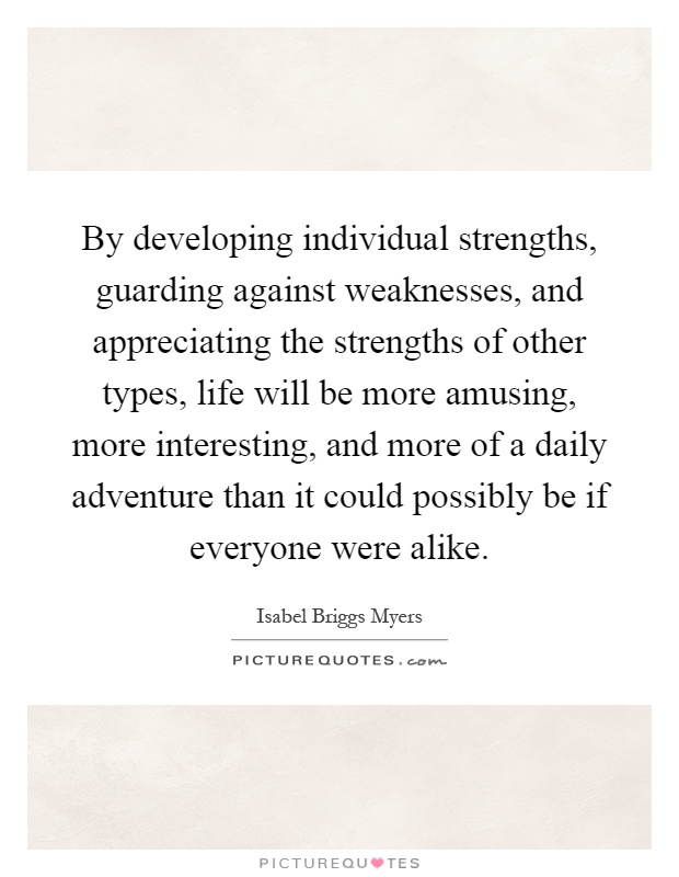 Individual Strength Quotes & Sayings | Individual Strength Picture ...