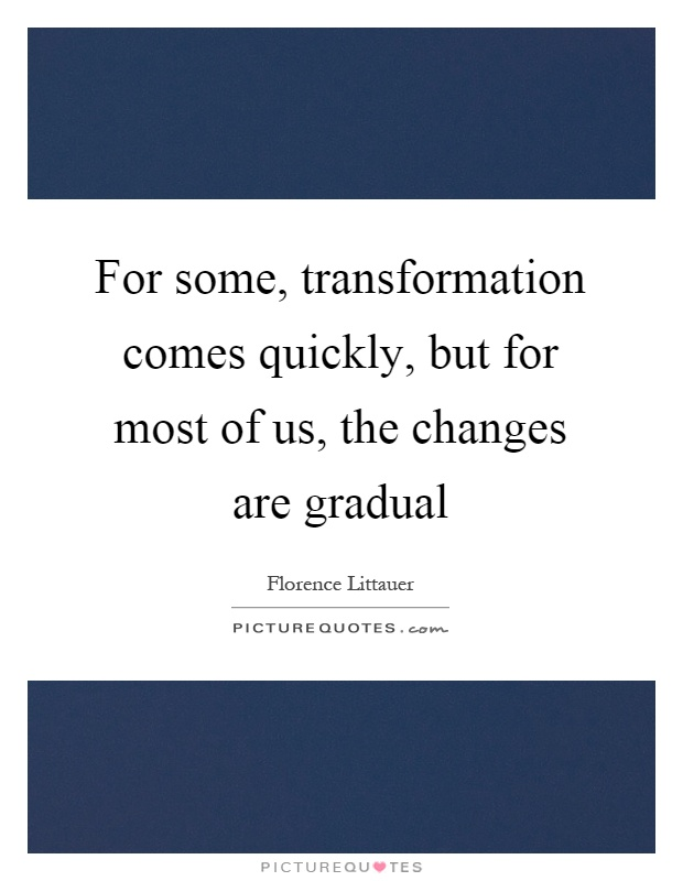 the gradual transformation of the world Suggested citation: eichhorst, werner (2007) : the gradual transformation of  continental european labor  company supported by deutsche post world net.