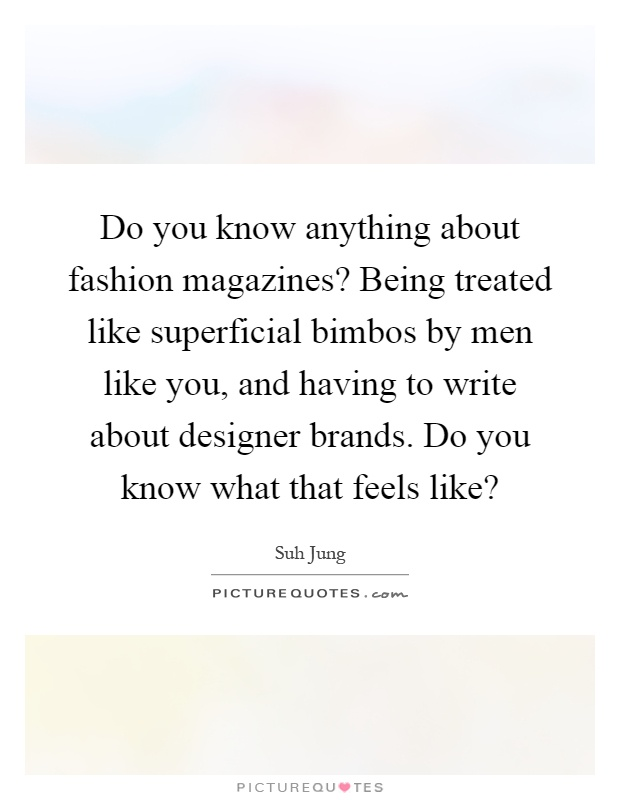 What do you like to write about?
