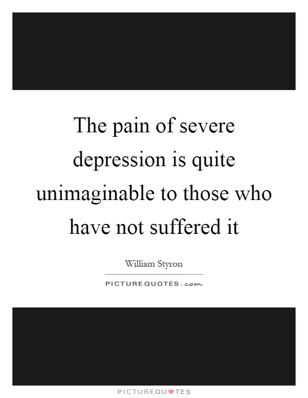 severe depression quotes - DriverLayer Search Engine