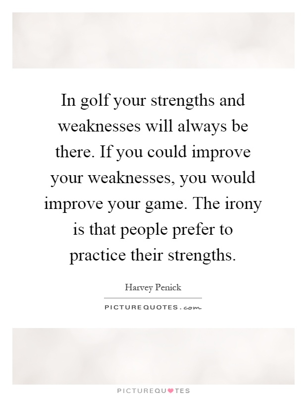 Strength And Weakness Quotes & Sayings