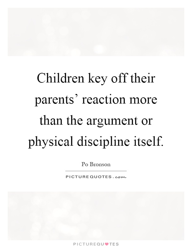 should parents physically discipline their children Among parents with minor children at home, 50 percent report that they sometimes spank their child, while 45 percent do not i happen to have grown-up in an age where spanking a child was okay yup, i was spanked and i hated it.