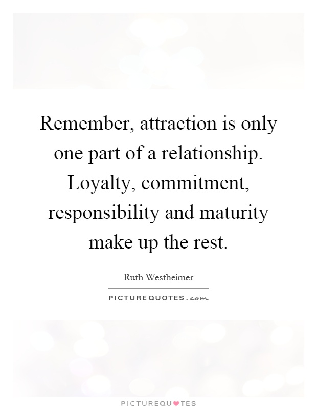 loyalty and commitment meaning relationship