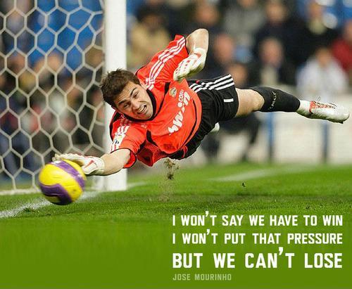 I won't say we have to win, I won't put that pressure, but we can't lose Picture Quote #1