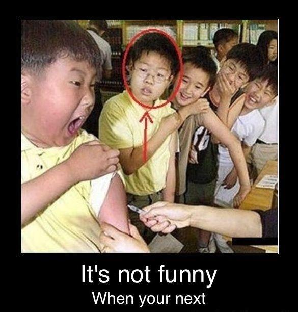 It's not funny when you're next Picture Quote #1
