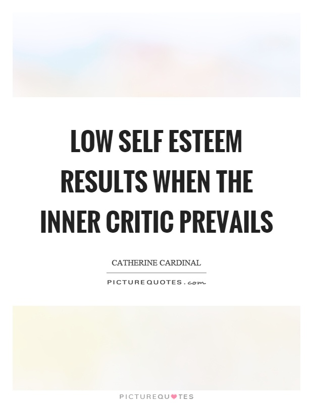 Low Self Esteem Quotes u0026 Sayings | Low Self Esteem Picture ...