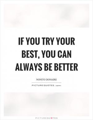 Try your best and forget the rest | Picture Quotes