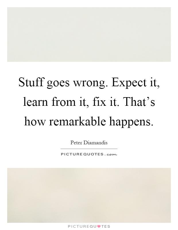 learn how to fix stuff