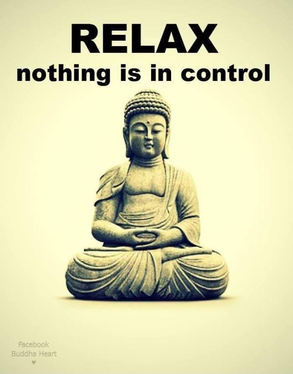 Relax. Nothing is in control Picture Quote #1