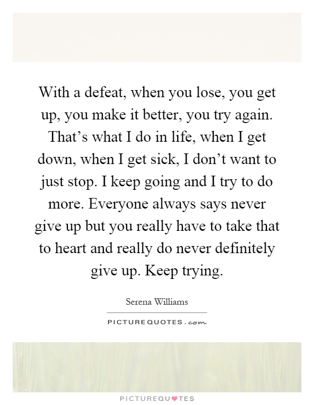 How often do you get sick of life?