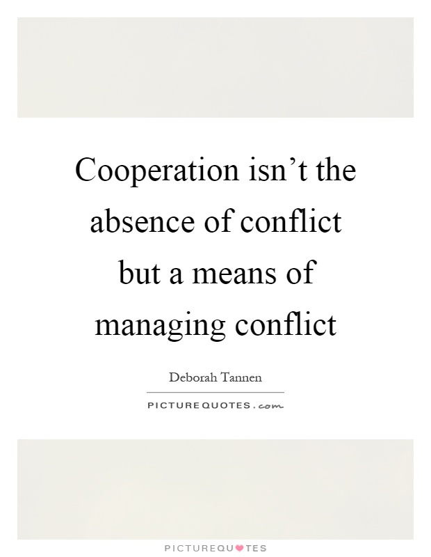conflict or cooperation At the core of every economic action stands the human being how does this 'human' work is the individual tending more towards conflict or cooperation how do businesses and states develop their decisions does the economy need conflict or are cooperative models more successful in the long run.