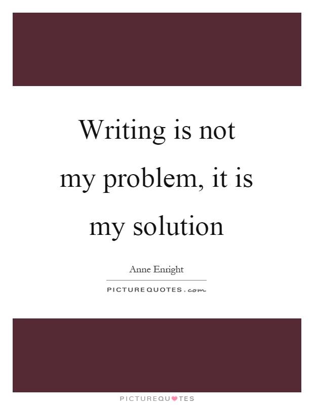 my problems essay