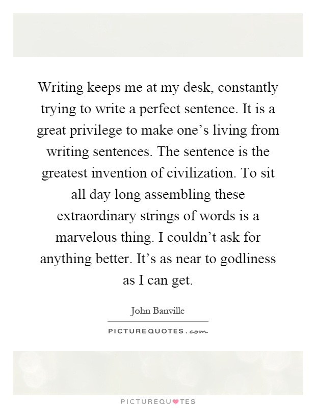 Write my sentence for me