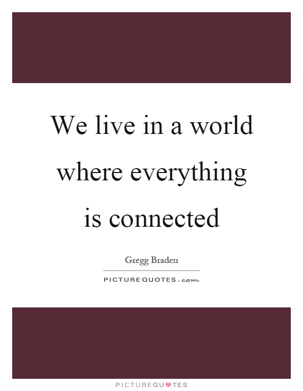 we live in a new world The theme is certainly on the new pope's we live in a world 'we live in a world where money worship reigns.
