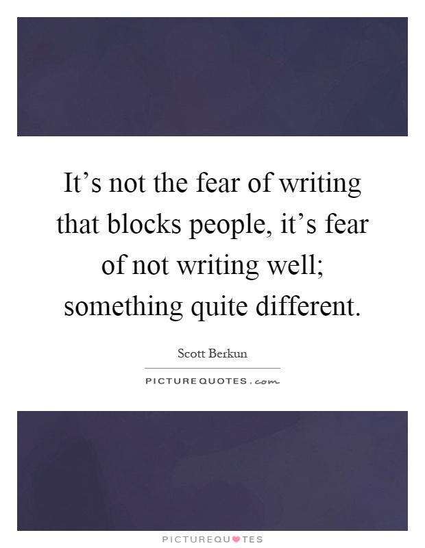 Fear of losing someone essay writer