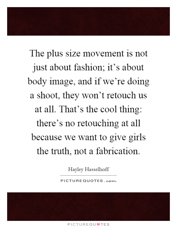 The plus size movement is not just about fashion; it\'s about ...