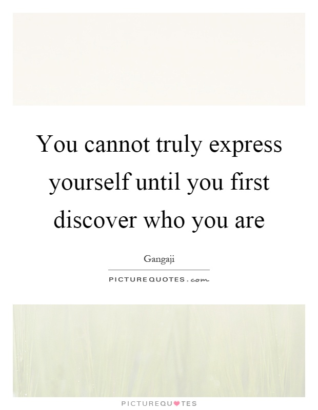 how to discover yourself pdf