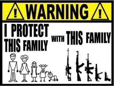 I protect this family with this family Picture Quote #1
