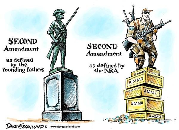 Second amendment as defined by the founding fathers. Second amendment as defined by the NRA Picture Quote #1