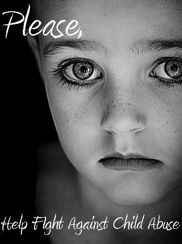 Please help fight against child abuse Picture Quote #1