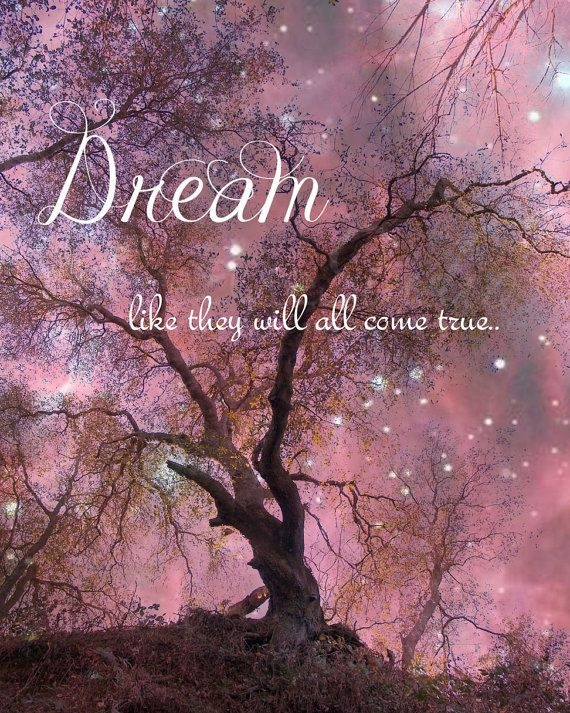 Dream like they will all come true Picture Quote #1