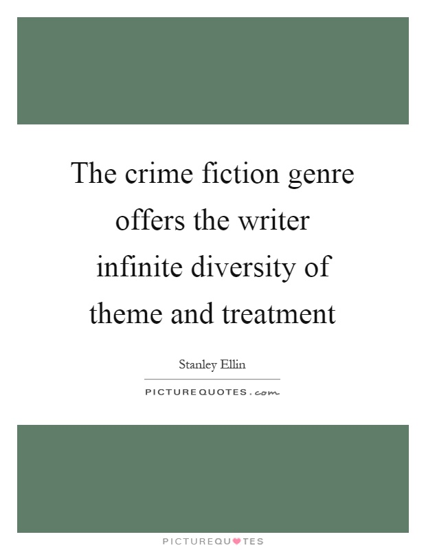 Genre of crime writing