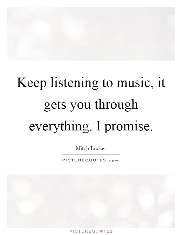 listen to music quotes