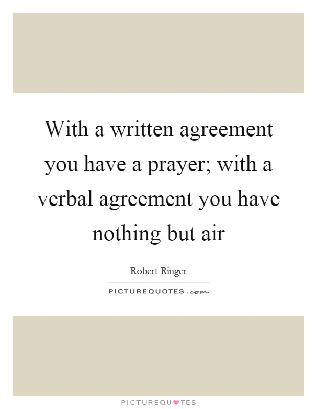 Quotes On Agreement Selol Ink