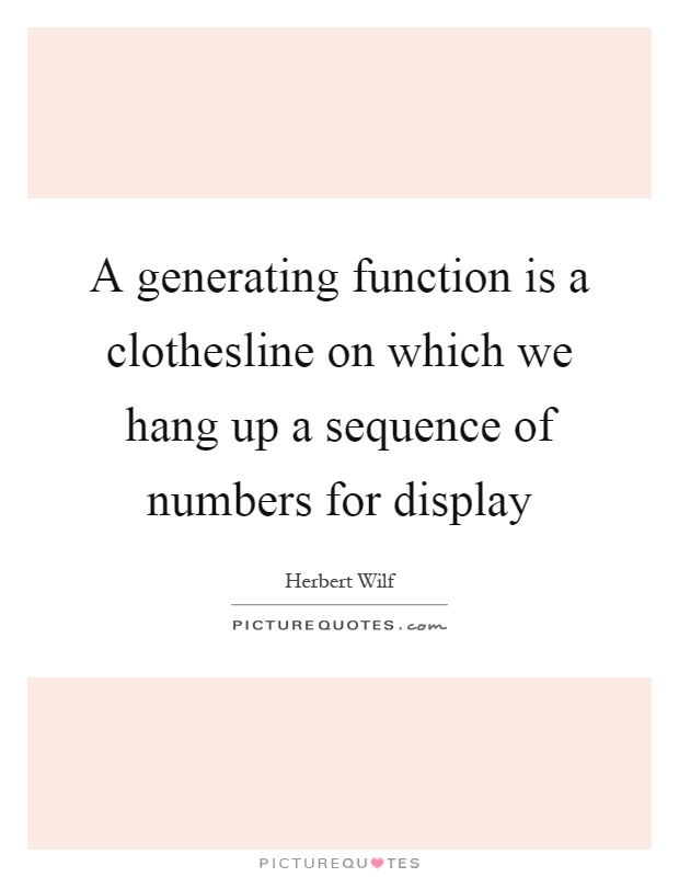 how to find generating function of a sequence