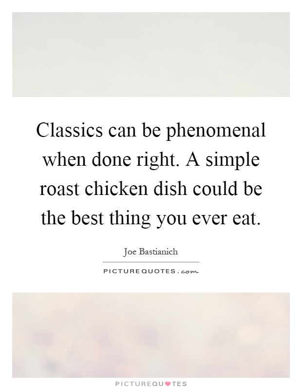 Classics Can Be Phenomenal When Done Right A Simple Roast