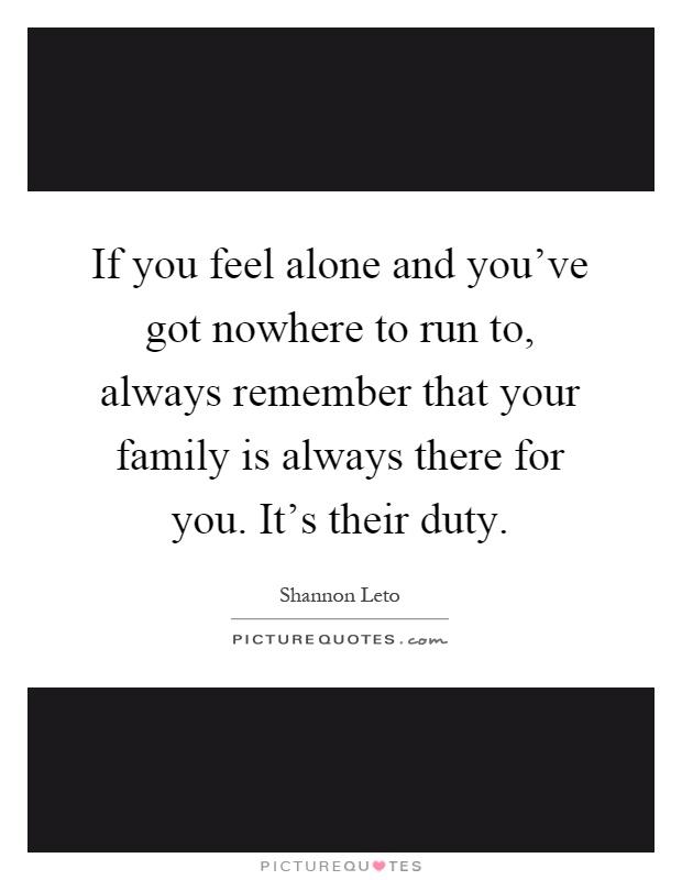I feel alone in my family