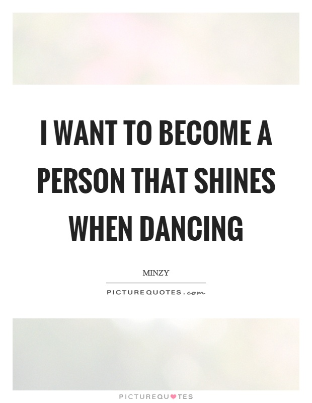 essay on i want to become a dancer