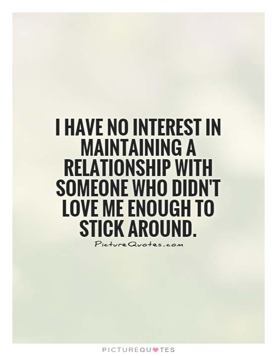 Having no interest in dating