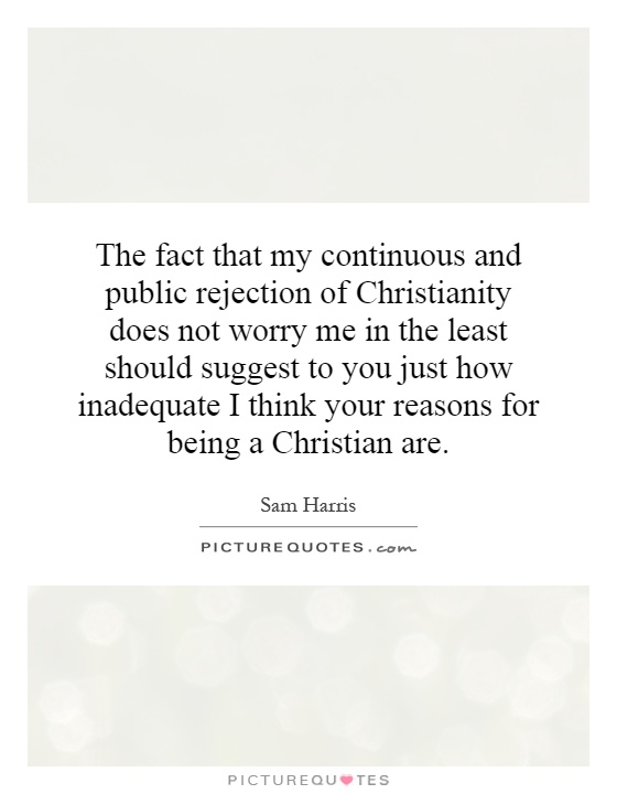 how to respond to rejection christianity