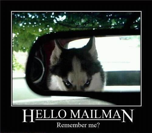 Hello mailman. Remember me? Picture Quote #1