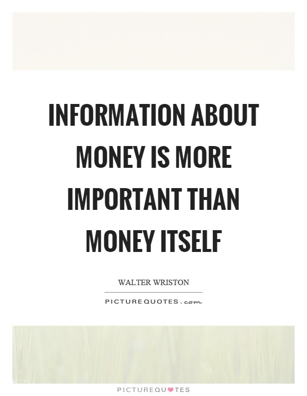 how important is money These days, someone may hold the opinion that the most important aspect of a job a job is the money a person earns it sounds like true, because with a lot of money, one can live a better life materially related articles: do you spend money or save them.