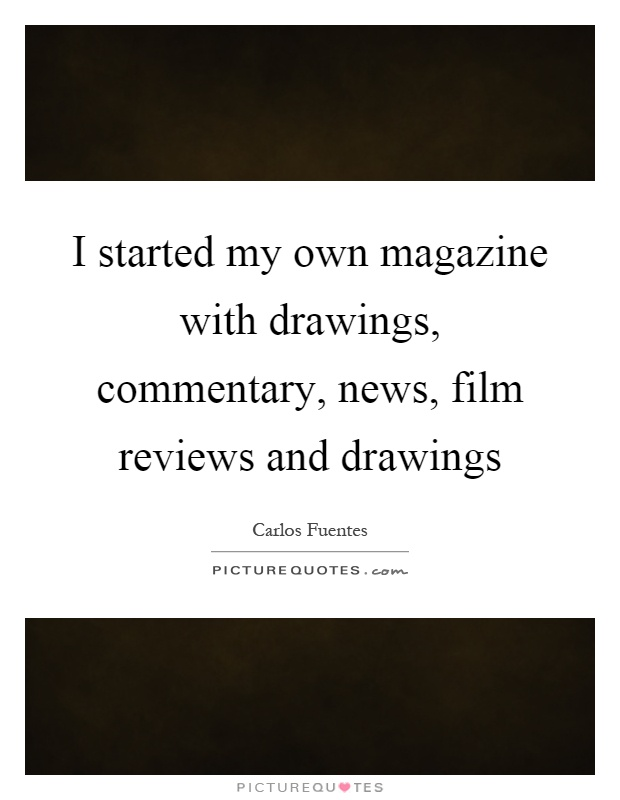 how to create my own magazine
