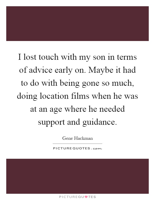 To my son much advice essay