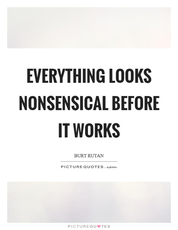 Nonsensical
