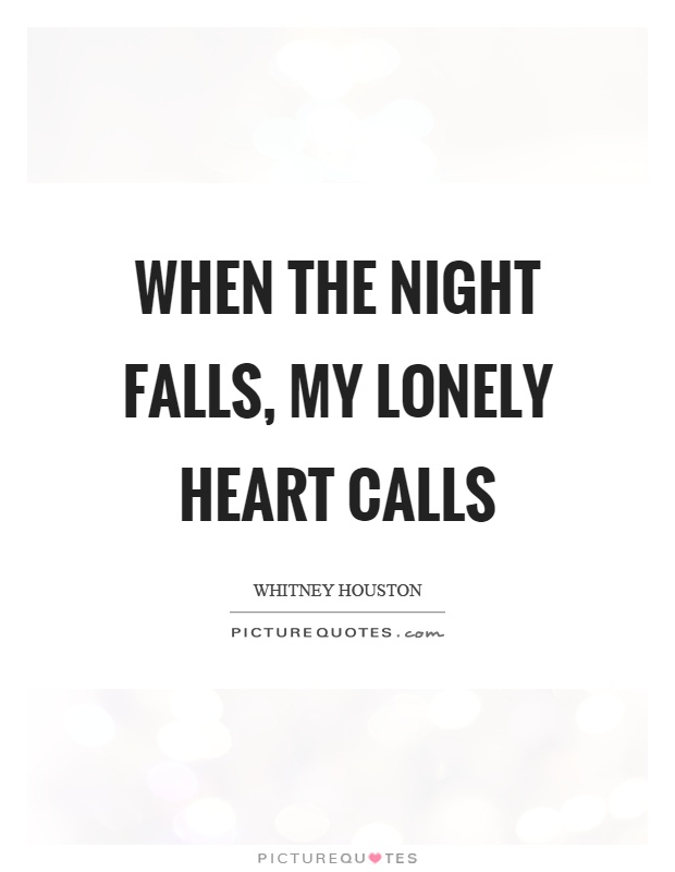 lonely night quotes