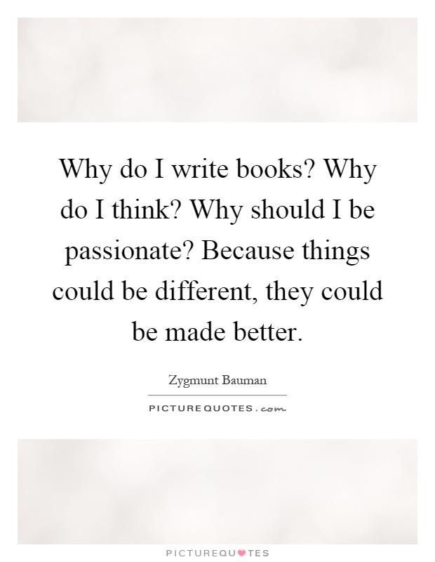 why should i write - photo #6