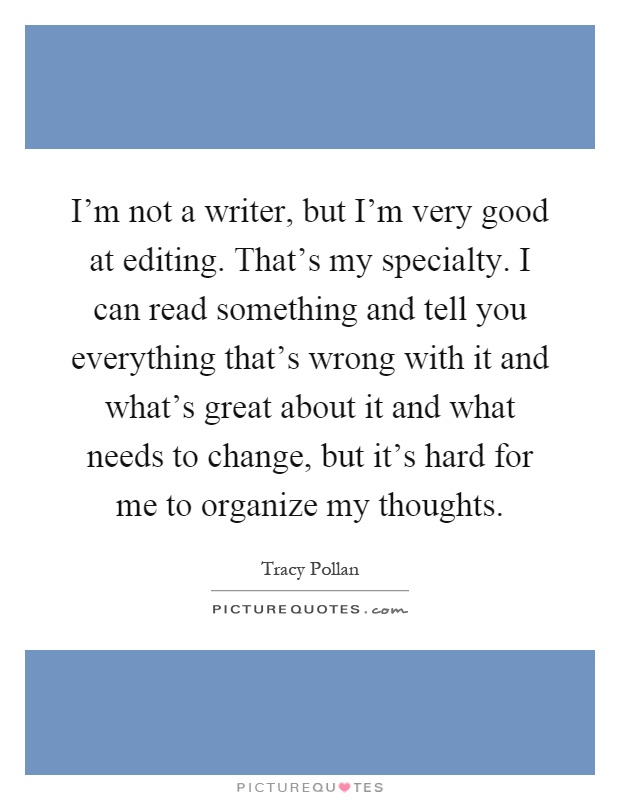 How do you really tell if you are a good writer?